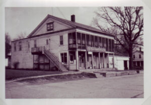 End of the Commons General Store in 1959